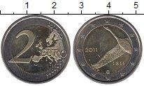 Изображение Монеты Финляндия 2 евро 2011 Биметалл UNC- 200-летие Банку Финл