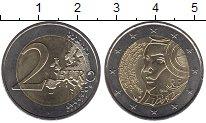 Изображение Монеты Франция 2 евро 2015 Биметалл UNC- 225-летие Фестиваля