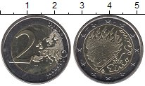 Изображение Монеты Европа Финляндия 2 евро 2016 Биметалл UNC-