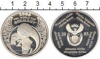 Изображение Монеты Африка ЮАР 2 ранда 2005 Серебро Proof-