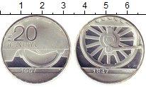 Изображение Монеты Европа Швейцария 20 франков 1997 Серебро Proof-