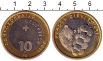 Изображение Монеты Швейцария 10 франков 2011 Биметалл UNC
