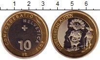 Изображение Монеты Швейцария 10 франков 2013 Биметалл UNC