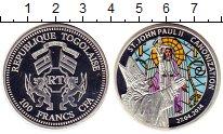 Изображение Монеты Африка Того 100 франков 2014 Серебро Proof