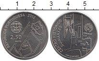 Изображение Монеты Португалия 2 1/2 евро 2012 Медно-никель UNC