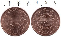 Изображение Монеты Австрия 10 евро 2016 Медь UNC