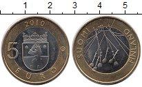 Изображение Монеты Финляндия 5 евро 2010 Биметалл UNC