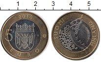 Изображение Монеты Финляндия 5 евро 2010 Биметалл UNC Исторические области