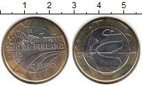Изображение Монеты Финляндия 5 евро 2015 Биметалл UNC