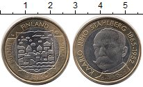 Изображение Монеты Европа Финляндия 5 евро 2016 Биметалл UNC