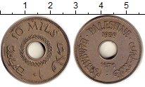 Изображение Монеты Азия Палестина 10 милс 1939 Медно-никель XF