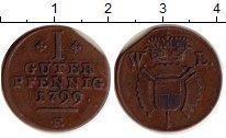 Изображение Монеты Германия Шаумбург-Гессен 1 пфенниг 1799 Медь XF-