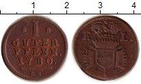 Изображение Монеты Германия Шаумбург-Гессен 1 пфенниг 1780 Медь XF