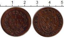 Изображение Монеты Германия Нассау 1 крейцер 1817 Медь VF