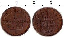 Изображение Монеты Пруссия 1 пфенниг 1866 Медь XF+