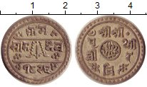 Изображение Монеты Непал 1/2 махура 1904 Серебро XF