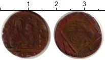 Изображение Монеты Италия Венеция 1 багаттино 0 Медь VF
