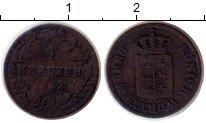 Изображение Монеты Германия Вюртемберг 1 крейцер 1842 Серебро VF
