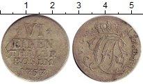 Изображение Монеты Германия Сайн-Альтенкирхен 1/6 талера 1757 Серебро VF+