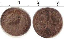 Изображение Монеты Германия Бранденбург 1 крейцер 1753 Серебро VF