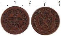 Изображение Монеты Нассау 1/4 крейцера 1819 Медь XF-