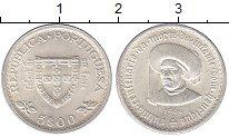 Изображение Монеты Европа Португалия 5 эскудо 1960 Серебро UNC-