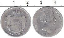 Изображение Монеты Европа Португалия 500 рейс 1856 Серебро VF