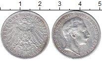 Изображение Монеты Германия Пруссия 3 марки 1912 Серебро VF