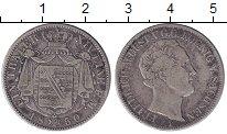 Изображение Монеты Германия Саксония 1 талер 1850 Серебро VF