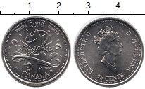 Изображение Монеты Канада 25 центов 2000 Медно-никель UNC-