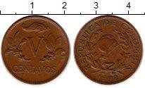 Изображение Монеты Южная Америка Колумбия 5 сентаво 1972 Бронза XF