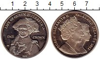Изображение Монеты Фолклендские острова 1 крона 2012 Медно-никель UNC-