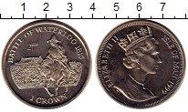 Изображение Монеты Остров Мэн 1 крона 1999 Медно-никель UNC-