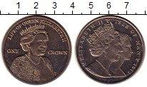 Изображение Монеты Великобритания Остров Мэн 1 крона 2012 Медно-никель UNC-