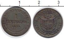 Изображение Монеты Тоскана 1 сентесимо 1859 Медь XF