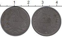 Изображение Монеты Венгрия 20 филлеров 1916 Железо XF
