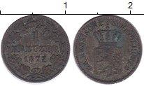 Изображение Монеты Германия Гессен-Дармштадт 1 крейцер 1872 Серебро XF-