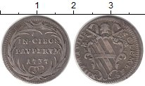 Изображение Монеты Ватикан 1 гроссо 1737 Серебро XF-