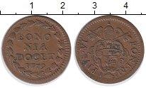 Изображение Монеты Ватикан 1 кватрино 1779 Медь XF