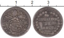 Изображение Монеты Ватикан 1 гроссо 1787 Серебро VF