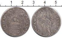 Изображение Монеты Ватикан 1 тестон 0 Серебро VF+
