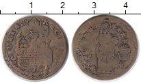 Изображение Монеты Германия Рагуза 1 сольдо 1731 Медь VF