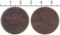 Изображение Монеты Ватикан 1/2 байоччи 1745 Медь VF+