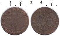 Изображение Монеты Ватикан 1/2 байоччи 1781 Медь XF-