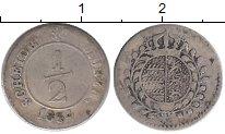 Изображение Монеты Германия Вюртемберг 1/2 крейцера 1834 Серебро XF-
