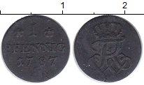 Изображение Монеты Пруссия 1 пфенниг 1787 Медь XF