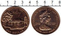Изображение Монеты Австралия и Океания Новая Зеландия 1 доллар 1977 Медно-никель UNC-