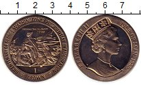Изображение Монеты Остров Мэн 1 крона 1989 Медно-никель UNC-