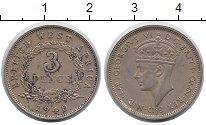 Изображение Монеты Западная Африка 3 пенса 1940 Медно-никель XF