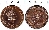 Изображение Монеты Великобритания Теркc и Кайкос 20 крон 1994 Серебро Proof-